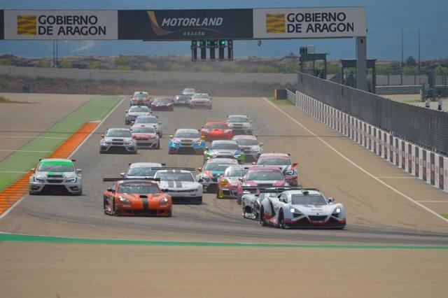 Racing Weekend RFEdeA en MotorLand Aragón.