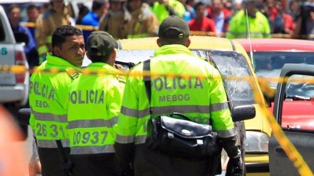 Colombia.- Disturbios en Bogotá por la muerte de un hombre durante una detención