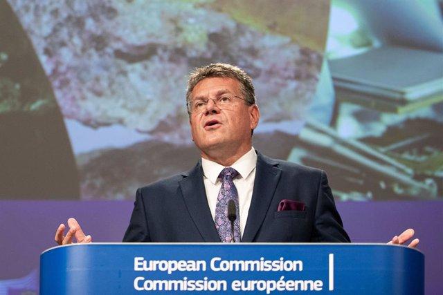 Brexit.- El vicepresidente de la CE viaja a Londres para pedir explicaciones por