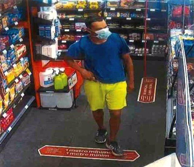 Detenido por robar en una gasolinera dos veces.