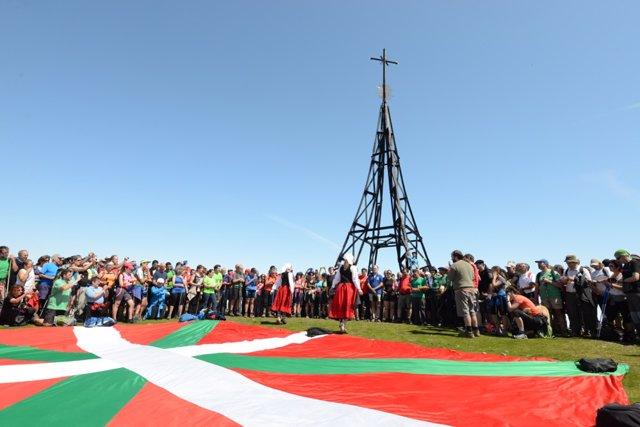 Día de los Montes Bocineros en Bizkaia, en su edición de 2015