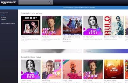 Portaltic.-Llega a España Amazon Music HD, el nuevo servicio de suscripción de música en streaming con alta calidad de sonido
