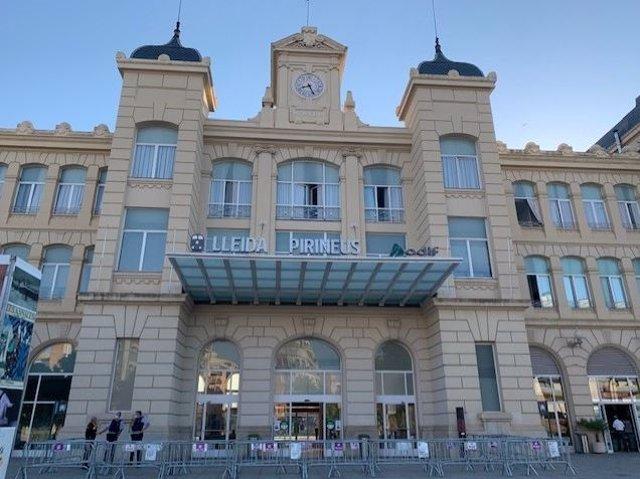 Estació Lleida-Pirineus.