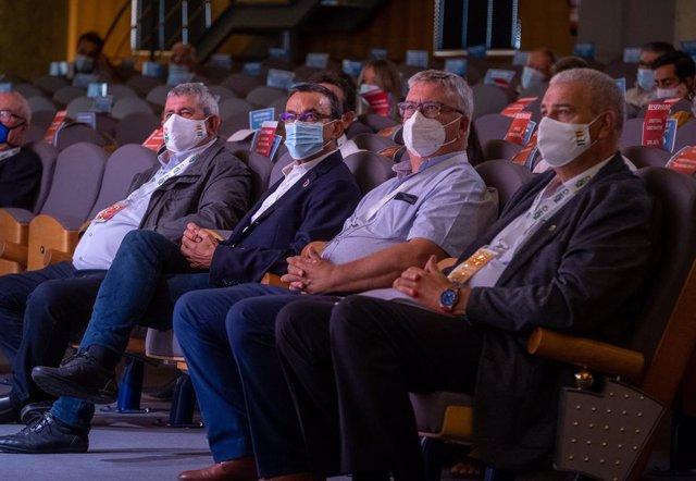 Huelva.- Caraballo acude al congreso de UPA y reitera su apoyo a los pequeños ag