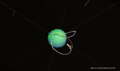 Un acelerador de partículas gigante rodea la Tierra