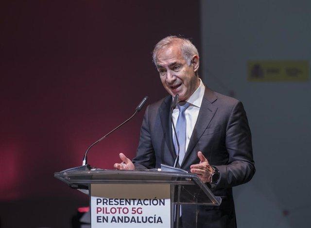 El presidente y consejero delegado de Vodafone España, Antonio Coimbra.