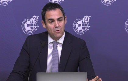 """Velasco Carballo: """"Tenemos ilusión con el VAR porque nuestros árbitros son de los mejores del mundo"""""""