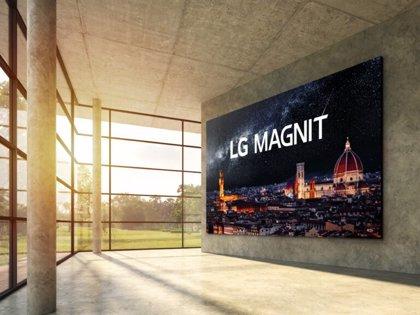 Portaltic.-LG lanza su nueva pantalla Magnit con tecnología microLED de 163 pulgadas y resolución 4K