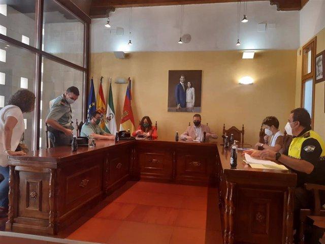 Junta local de seguridad de Castellar
