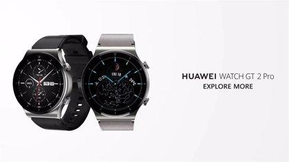 Portaltic.-Huawei presenta Watch GT 2 Pro, su nuevo reloj con funciones para golf y esquí