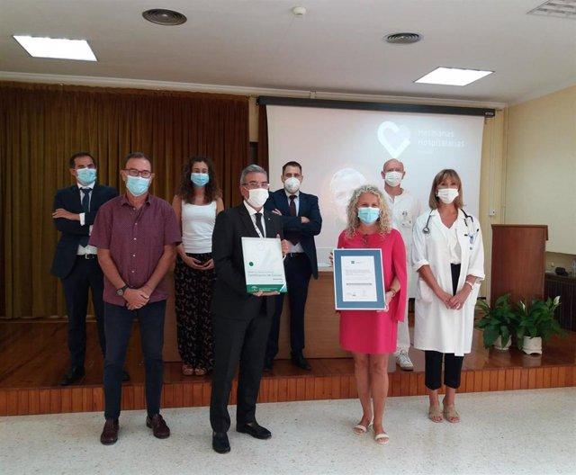 Las residencias y servicio de día de las Hermanas Hospitalarias del Sagrado Corazón de Málaga reciben la certificación de la Agencia de Calidad Sanitaria de Andalucía