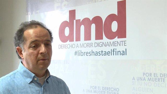 Fernando Marín, vicepresidente de la Asociación Derecho a Morir Dignamente.