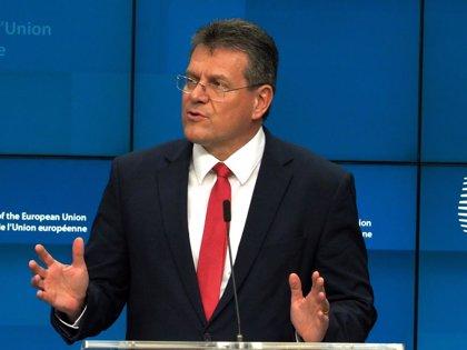 Brexit.- Bruselas da a Johnson hasta final de mes para enmendar la ley que viola el acuerdo del Brexit
