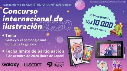 Concurso internacional de ilustración 2020 Con motivo de la publicación de CLIP STUDIO PAINT para Galaxy