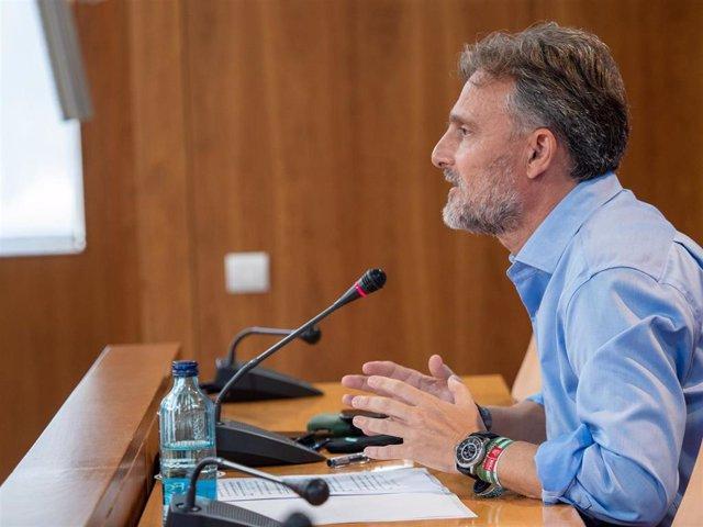 El portavoz parlamentario del PSOE-A, José Fiscal