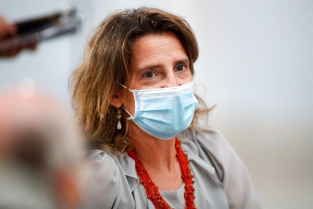 La  vicepresidenta y ministra para la Transición Ecológica y el Reto Demográfico, Teresa Ribera, en una imagen de archivo