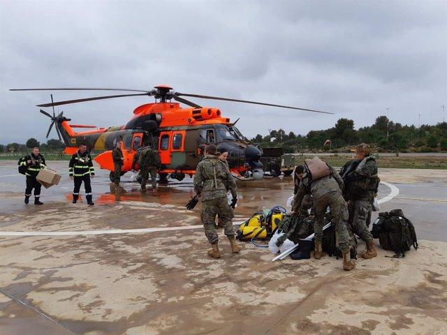 Un centenar de militares comenzarán este viernes las labores de rastreo de la COVID-19 en Baleares