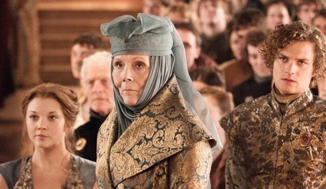 Diana Riggs es Olenna Tyrell en Juego de tronos