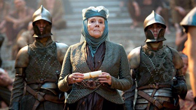 """Juego de tronos despide a Diana Rigg, """"la verdadera Reina de Poniente"""""""