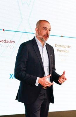 El consejero delegado de Grupo Aspy, Óscar Santos