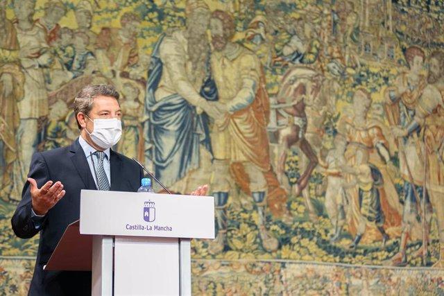 El presidente de Castilla-La Mancha, Emiliano García-Page,