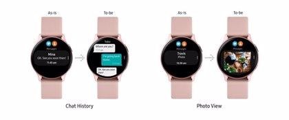 Portaltic.-Galaxy Watch Active2 se actualiza con detección de caídas, análisis de carrera y otras mejoras
