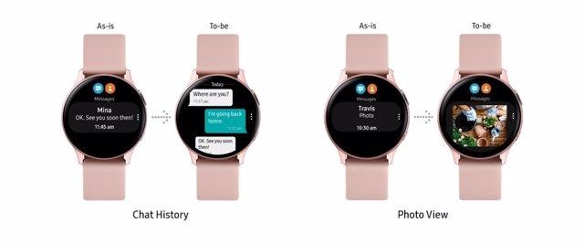 Galaxy Watch Active2 se actualiza con detección de caídas, análisis de carrera y