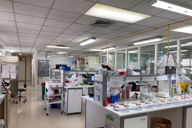 Laboratorios del Hospital de Puerto Real, en una imagen de archivo