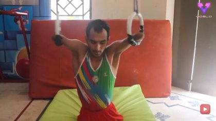 Mohammad Azim, el hombre que superó el bullying y se convirtió en atleta, se prepara para los Juegos Paralímpicos