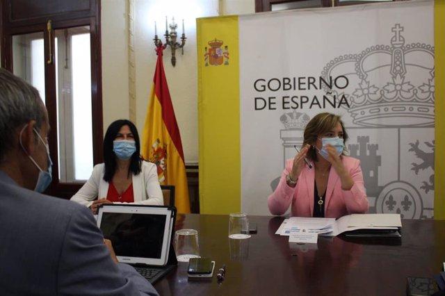 La delegada del Gobierno en Andalucía, Sandra García, preside en Granada la Comisión Territorial de Asistencia a la Delegada