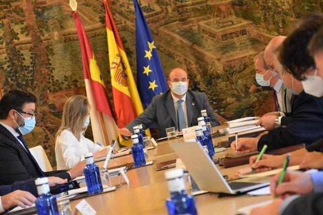 El vicepresidente del Gobierno de C-LM, José Luis Martínez Guijarro