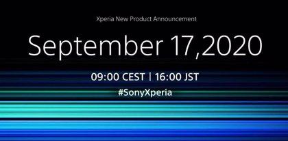 Portaltic.-Sony presentará su nuevo móvil insignia Xperia el próximo 17 de septiembre