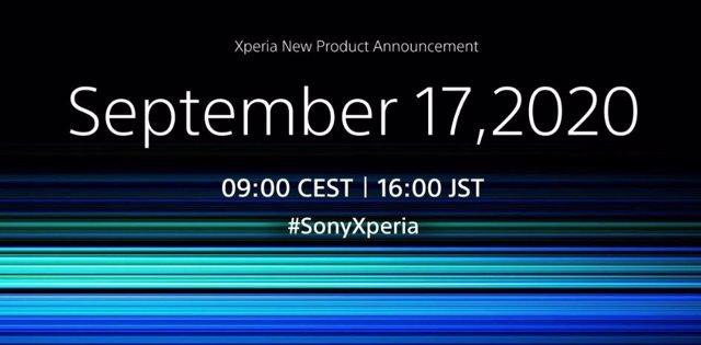 Sony presentará su nuevo móvil insignia Xperia el próximo 17 de septiembre