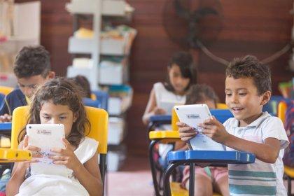 Cerca de 11,5 millones de niños y más de 450.000 docentes se benefician del programa de educación digital ProFuturo
