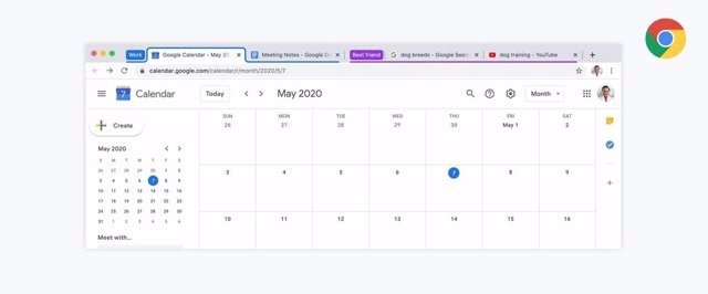 Google Chrome añade los grupos de pestañas personalizables para ayudar a organizarlas