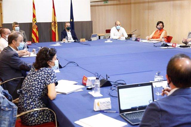El Portal de Transparencia del Gobierno de Aragón publicará la evolución de la Estrategia de Recuperación