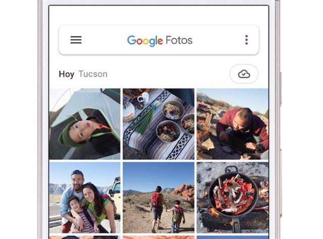 Google Fotos trabaja en un nuevo diseño que cambiará algunas palabras de las fun