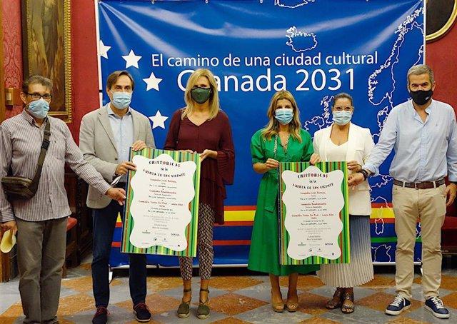 Presentación del festival de títeres en la Huerta de San Vicente
