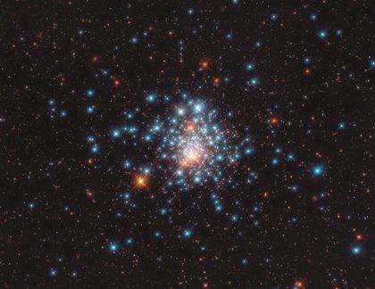 El telescopio Hubble encierra un puñado de estrellas