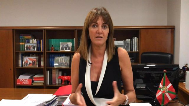 La secretaria general del PSE, Idoia Mendia.