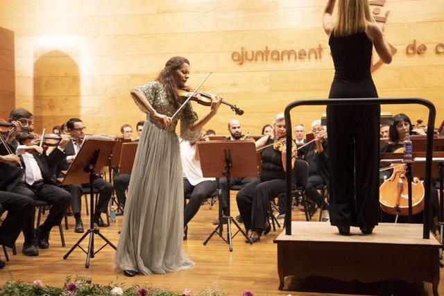 Cultura.- El concurso internacional de violín CullerArts resiste con jóvenes pro
