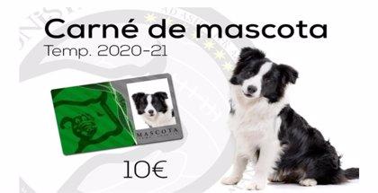 El club de fútbol Unionistas de Salamanca crea un carné para mascotas