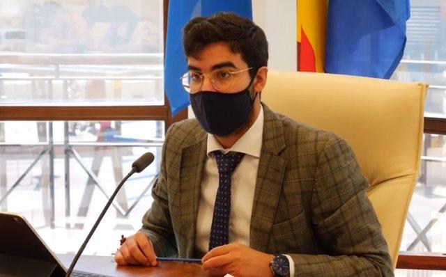El consejero de Salud Pública de Melilla, Mohamed Mohand