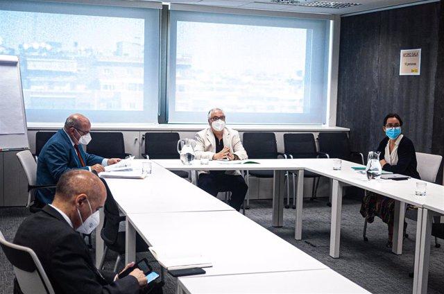 Conferencia General de Política Universitaria, con presencia de todas las CCAA y presidida por el ministro de Universidades, Manuel Castells, y con la asistencia del Secretario General de Universidades, José Manuel Pingarrón; y la Directora de Gabinete.