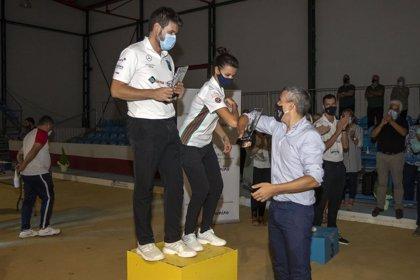 Andrea Gómez y Rubén Haya ganan el III Concurso de Parejas Mixta de Bolo Palma