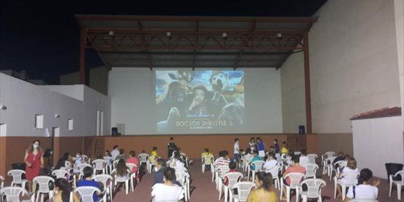 2. Más de 16.000 espectadores en el Cineverano 2020 de Diputación de Jaén