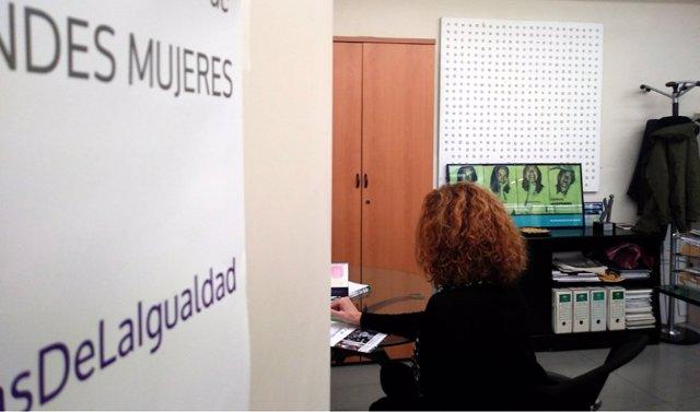 Imagen de archivo de dependencias del Instituto Andaluz de la Mujer.