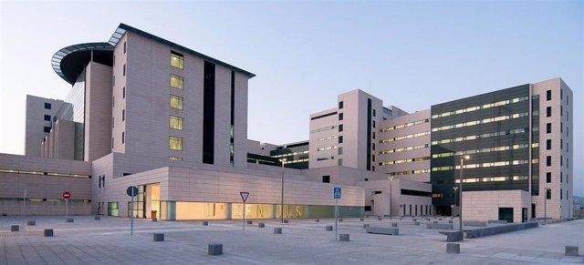 Imagen de archivo del nuevo Hospital Universitario San Cecilio, ubicado en el Parque Tecnológico de la Salud de Granada.