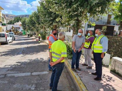 Fomento solventa un problema de seguridad vial en la travesía de Santiago Pontones (Jaén)