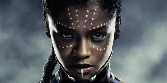 1. Así luce Shuri (Letitia Wright) como la nueva Black Panther del Univesro Marvel